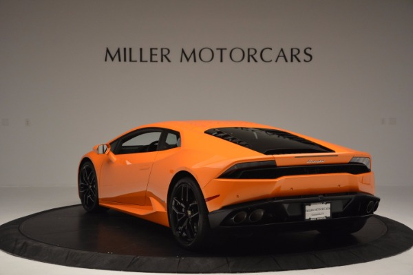 Used 2015 Lamborghini Huracan LP 610-4 for sale Sold at Aston Martin of Greenwich in Greenwich CT 06830 5