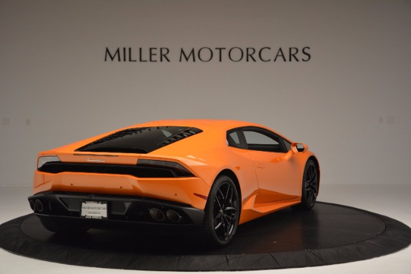 Used 2015 Lamborghini Huracan LP 610-4 for sale Sold at Aston Martin of Greenwich in Greenwich CT 06830 7