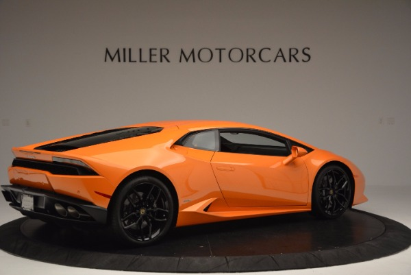 Used 2015 Lamborghini Huracan LP 610-4 for sale Sold at Aston Martin of Greenwich in Greenwich CT 06830 8
