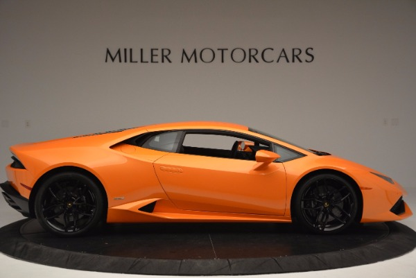 Used 2015 Lamborghini Huracan LP 610-4 for sale Sold at Aston Martin of Greenwich in Greenwich CT 06830 9