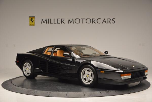 Used 1989 Ferrari Testarossa for sale Sold at Aston Martin of Greenwich in Greenwich CT 06830 10