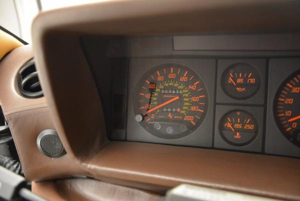 Used 1989 Ferrari Testarossa for sale Sold at Aston Martin of Greenwich in Greenwich CT 06830 20