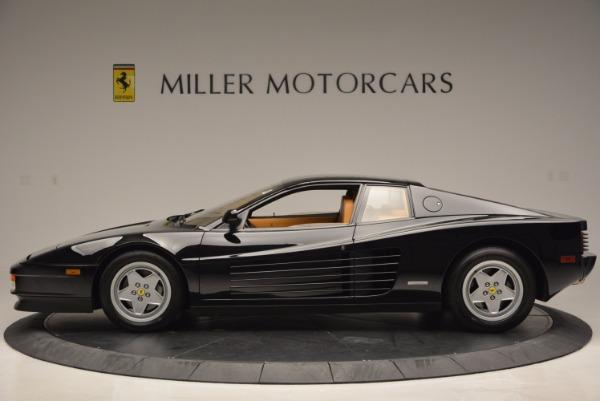 Used 1989 Ferrari Testarossa for sale Sold at Aston Martin of Greenwich in Greenwich CT 06830 3