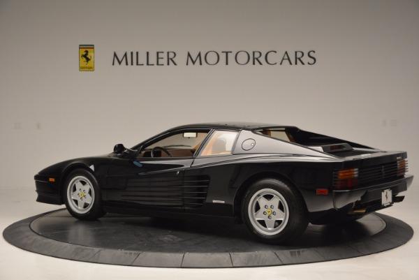 Used 1989 Ferrari Testarossa for sale Sold at Aston Martin of Greenwich in Greenwich CT 06830 4
