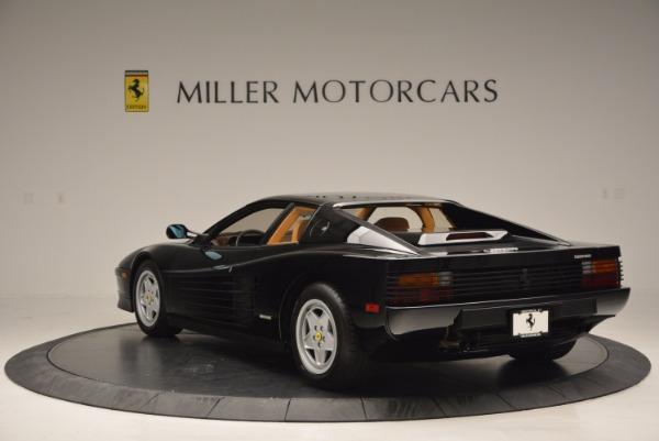 Used 1989 Ferrari Testarossa for sale Sold at Aston Martin of Greenwich in Greenwich CT 06830 5