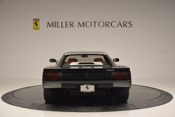 Used 1989 Ferrari Testarossa for sale Sold at Aston Martin of Greenwich in Greenwich CT 06830 6