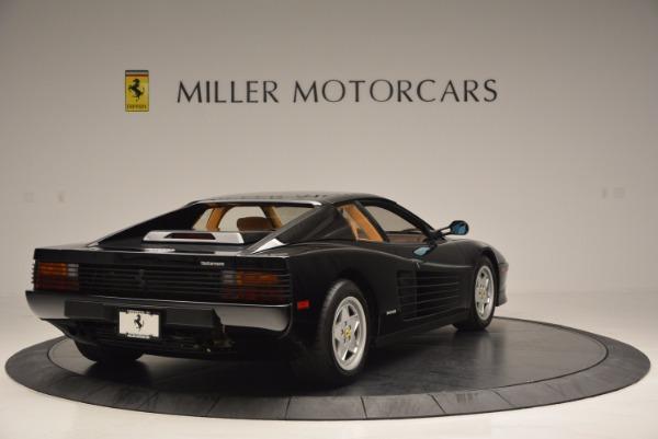 Used 1989 Ferrari Testarossa for sale Sold at Aston Martin of Greenwich in Greenwich CT 06830 7