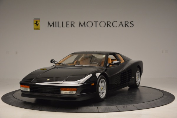 Used 1989 Ferrari Testarossa for sale Sold at Aston Martin of Greenwich in Greenwich CT 06830 1