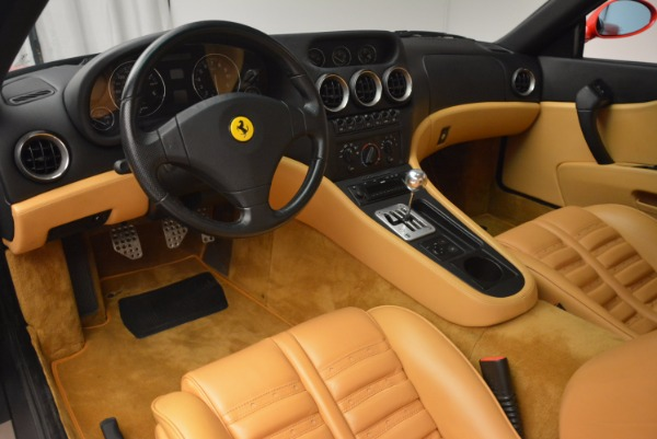 Used 2000 Ferrari 550 Maranello for sale Sold at Aston Martin of Greenwich in Greenwich CT 06830 13