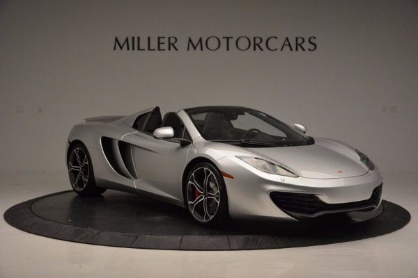 Used 2014 McLaren MP4-12C Spider for sale Sold at Aston Martin of Greenwich in Greenwich CT 06830 10