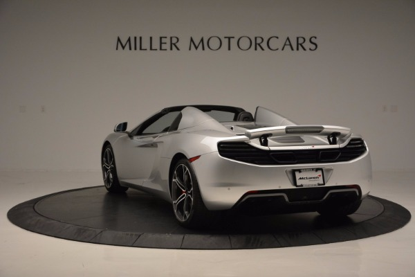 Used 2014 McLaren MP4-12C Spider for sale Sold at Aston Martin of Greenwich in Greenwich CT 06830 5