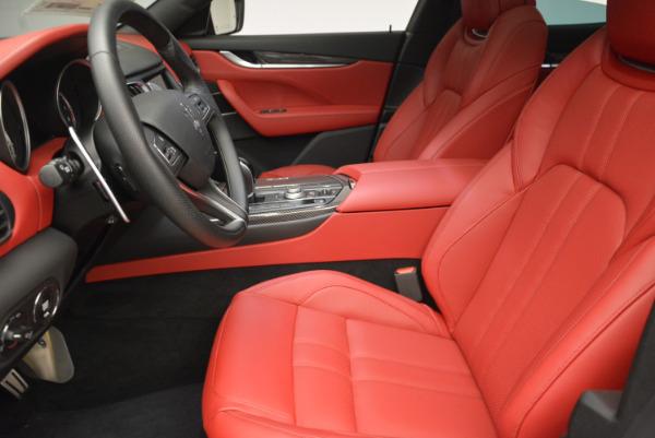 Used 2017 Maserati Levante Ex Service Loaner for sale Sold at Aston Martin of Greenwich in Greenwich CT 06830 14
