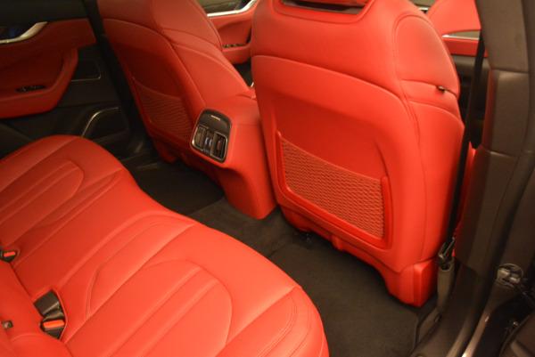 Used 2017 Maserati Levante Ex Service Loaner for sale Sold at Aston Martin of Greenwich in Greenwich CT 06830 24