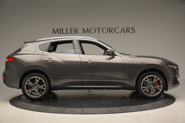 Used 2017 Maserati Levante Ex Service Loaner for sale Sold at Aston Martin of Greenwich in Greenwich CT 06830 9
