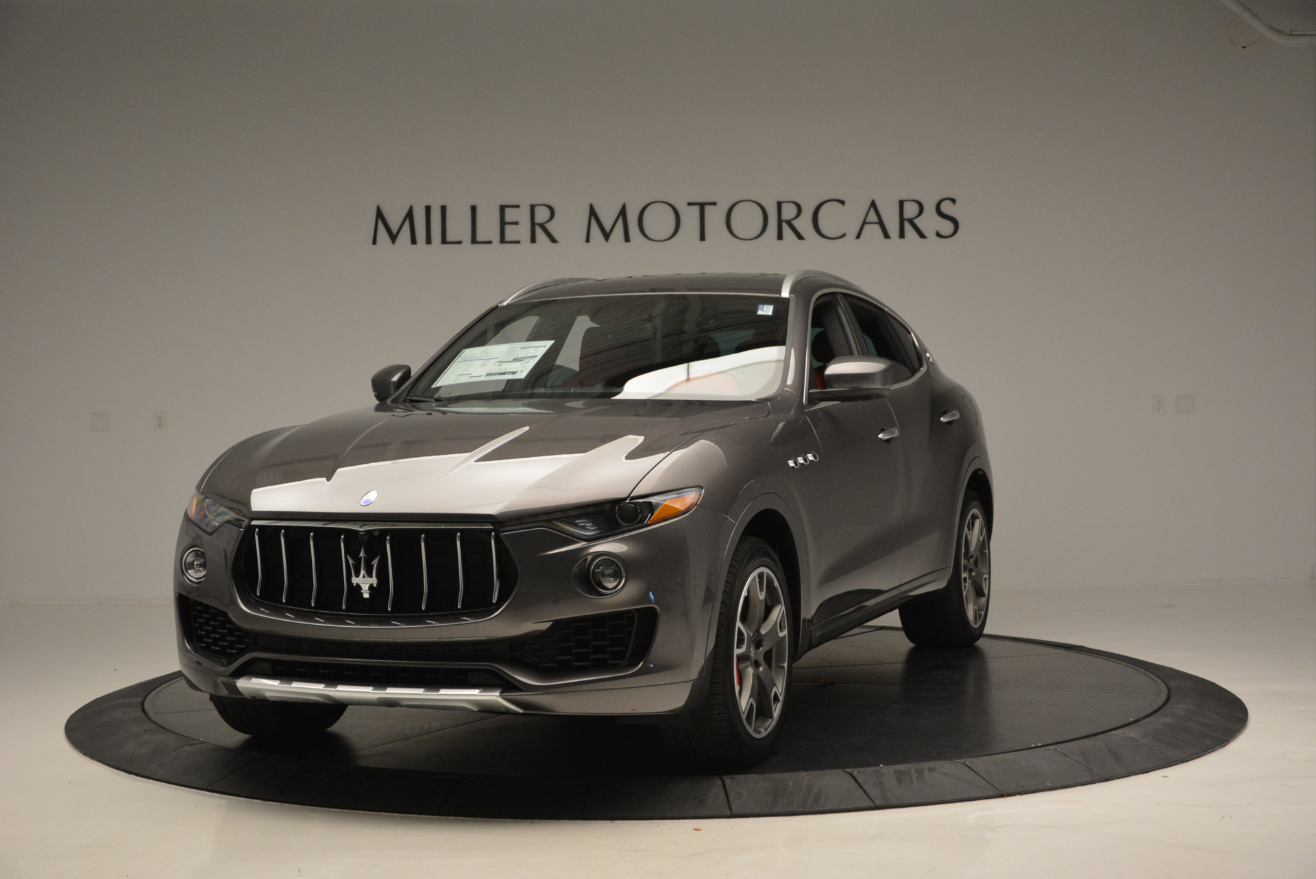 Used 2017 Maserati Levante Ex Service Loaner for sale Sold at Aston Martin of Greenwich in Greenwich CT 06830 1