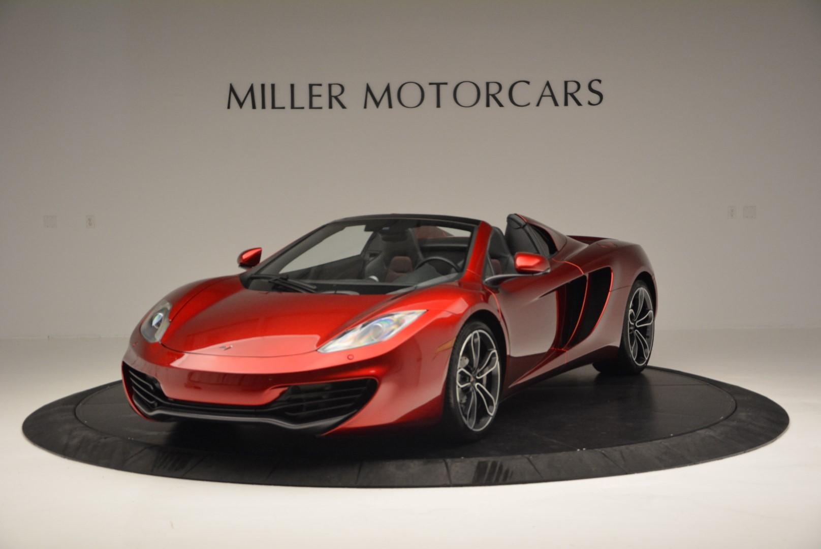 Used 2013 McLaren MP4-12C Base for sale Sold at Aston Martin of Greenwich in Greenwich CT 06830 1