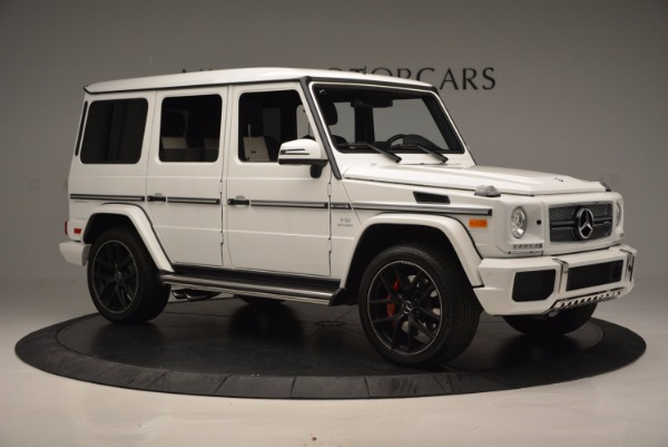 Used 2016 Mercedes Benz G-Class AMG G65 for sale Sold at Aston Martin of Greenwich in Greenwich CT 06830 10