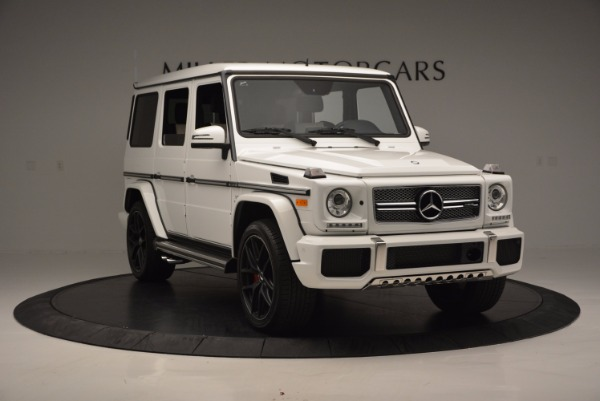 Used 2016 Mercedes Benz G-Class AMG G65 for sale Sold at Aston Martin of Greenwich in Greenwich CT 06830 11