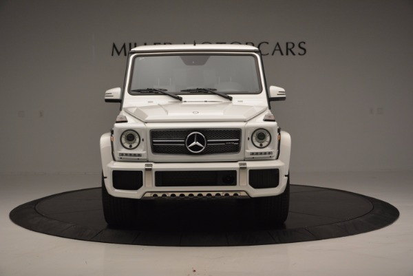 Used 2016 Mercedes Benz G-Class AMG G65 for sale Sold at Aston Martin of Greenwich in Greenwich CT 06830 12