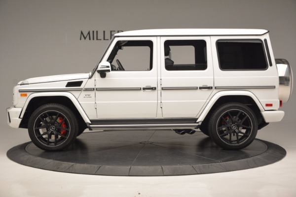 Used 2016 Mercedes Benz G-Class AMG G65 for sale Sold at Aston Martin of Greenwich in Greenwich CT 06830 3