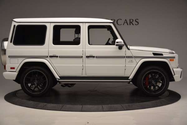 Used 2016 Mercedes Benz G-Class AMG G65 for sale Sold at Aston Martin of Greenwich in Greenwich CT 06830 9