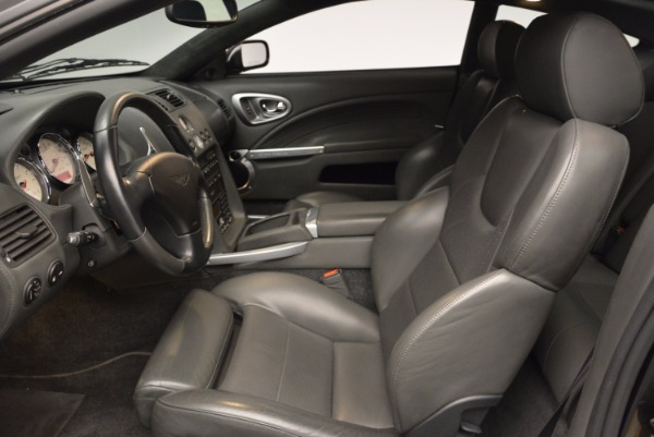 Used 2005 Aston Martin V12 Vanquish S for sale Sold at Aston Martin of Greenwich in Greenwich CT 06830 13