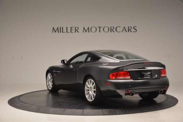 Used 2005 Aston Martin V12 Vanquish S for sale Sold at Aston Martin of Greenwich in Greenwich CT 06830 5