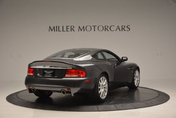 Used 2005 Aston Martin V12 Vanquish S for sale Sold at Aston Martin of Greenwich in Greenwich CT 06830 7