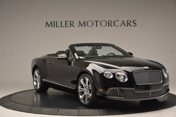 Used 2013 Bentley Continental GTC for sale Sold at Aston Martin of Greenwich in Greenwich CT 06830 12
