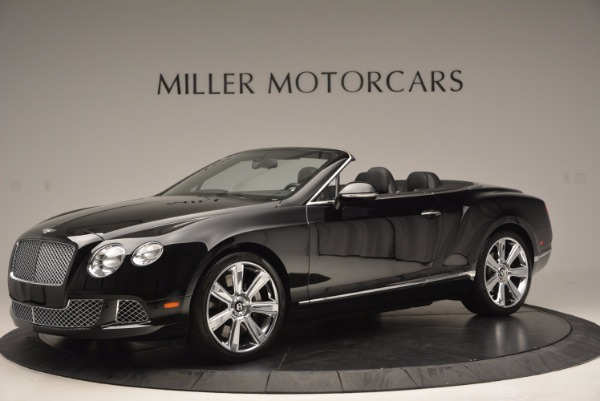 Used 2013 Bentley Continental GTC for sale Sold at Aston Martin of Greenwich in Greenwich CT 06830 2