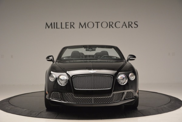 Used 2013 Bentley Continental GTC for sale Sold at Aston Martin of Greenwich in Greenwich CT 06830 3