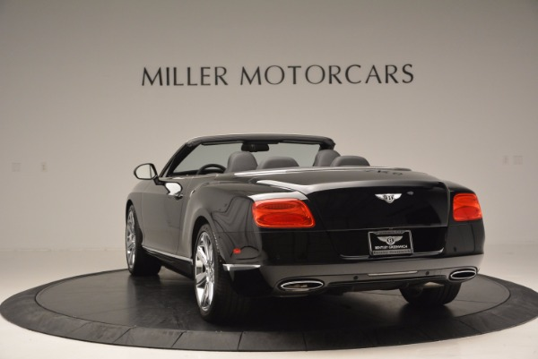 Used 2013 Bentley Continental GTC for sale Sold at Aston Martin of Greenwich in Greenwich CT 06830 6