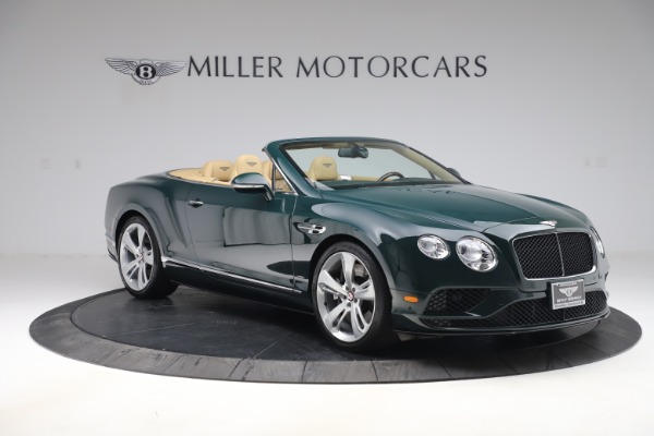 Used 2017 Bentley Continental GTC V8 S for sale $139,900 at Aston Martin of Greenwich in Greenwich CT 06830 11