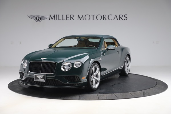 Used 2017 Bentley Continental GTC V8 S for sale $139,900 at Aston Martin of Greenwich in Greenwich CT 06830 13