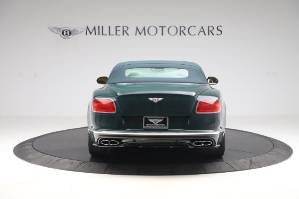 Used 2017 Bentley Continental GTC V8 S for sale $139,900 at Aston Martin of Greenwich in Greenwich CT 06830 16