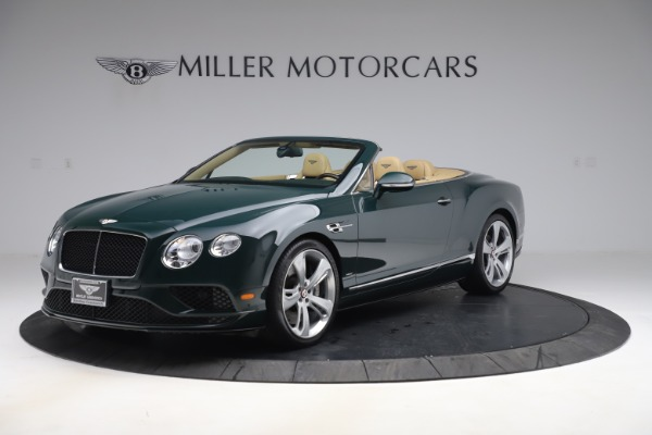 Used 2017 Bentley Continental GTC V8 S for sale $139,900 at Aston Martin of Greenwich in Greenwich CT 06830 2