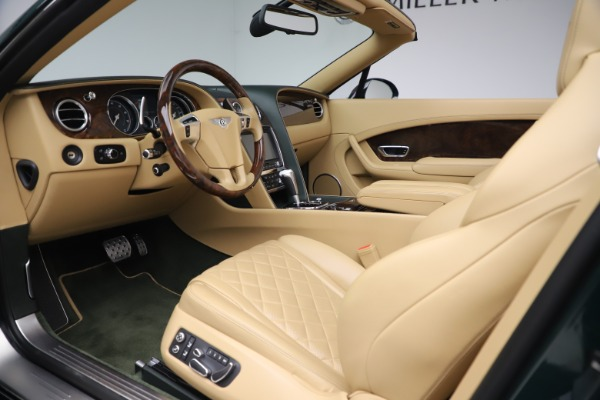 Used 2017 Bentley Continental GTC V8 S for sale $139,900 at Aston Martin of Greenwich in Greenwich CT 06830 25