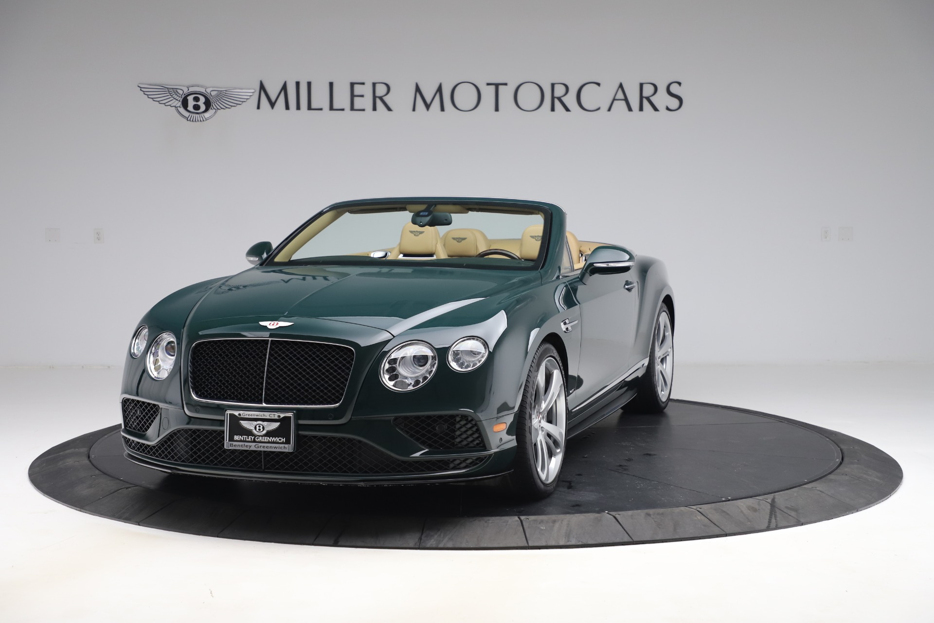 Used 2017 Bentley Continental GTC V8 S for sale $139,900 at Aston Martin of Greenwich in Greenwich CT 06830 1