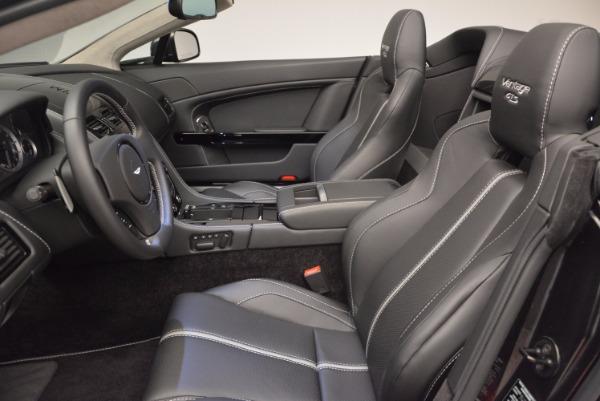 Used 2016 Aston Martin V8 Vantage S Roadster for sale Sold at Aston Martin of Greenwich in Greenwich CT 06830 25