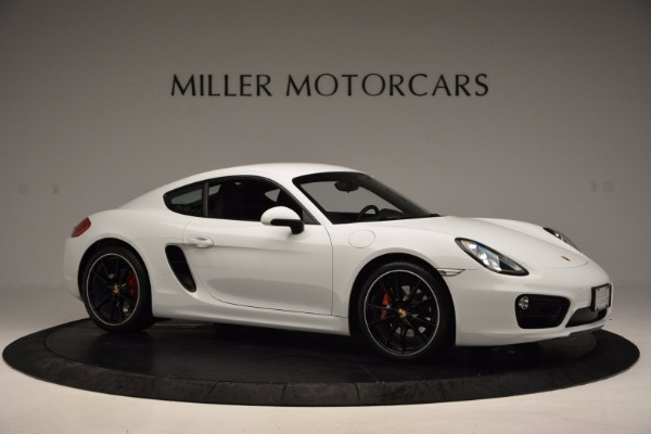 Used 2014 Porsche Cayman S for sale Sold at Aston Martin of Greenwich in Greenwich CT 06830 10