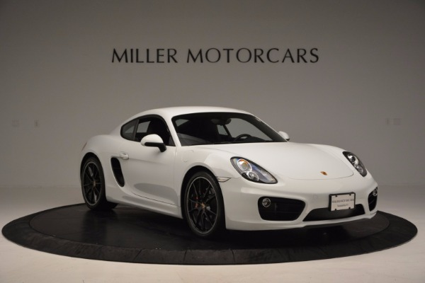 Used 2014 Porsche Cayman S for sale Sold at Aston Martin of Greenwich in Greenwich CT 06830 11