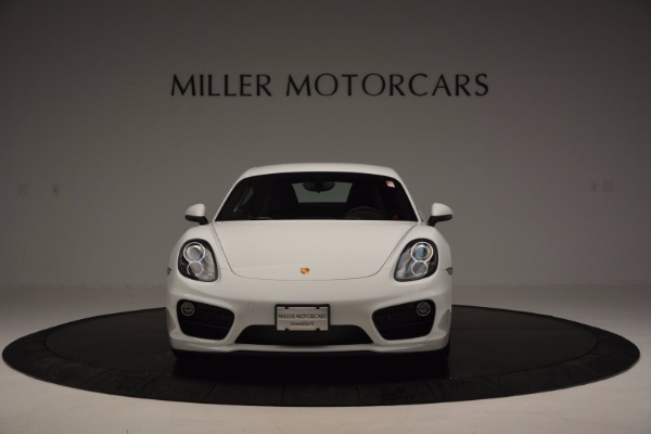 Used 2014 Porsche Cayman S for sale Sold at Aston Martin of Greenwich in Greenwich CT 06830 12