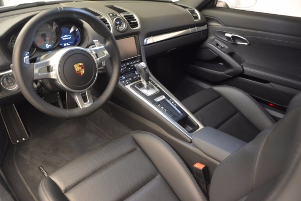 Used 2014 Porsche Cayman S for sale Sold at Aston Martin of Greenwich in Greenwich CT 06830 13