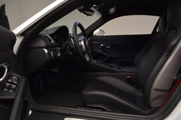 Used 2014 Porsche Cayman S for sale Sold at Aston Martin of Greenwich in Greenwich CT 06830 14