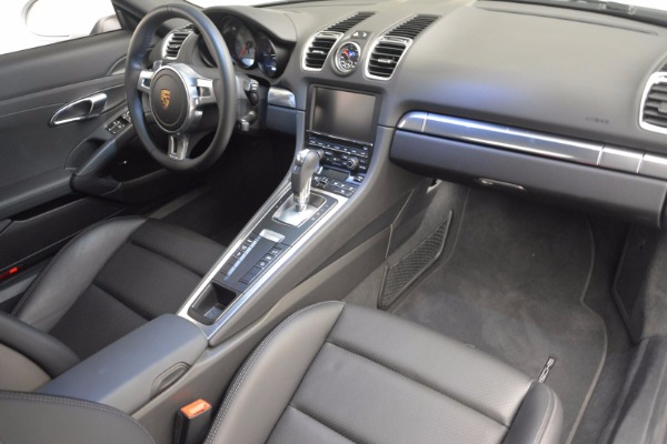 Used 2014 Porsche Cayman S for sale Sold at Aston Martin of Greenwich in Greenwich CT 06830 16