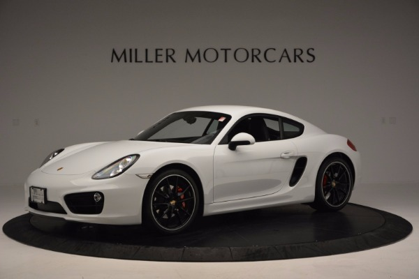 Used 2014 Porsche Cayman S for sale Sold at Aston Martin of Greenwich in Greenwich CT 06830 2