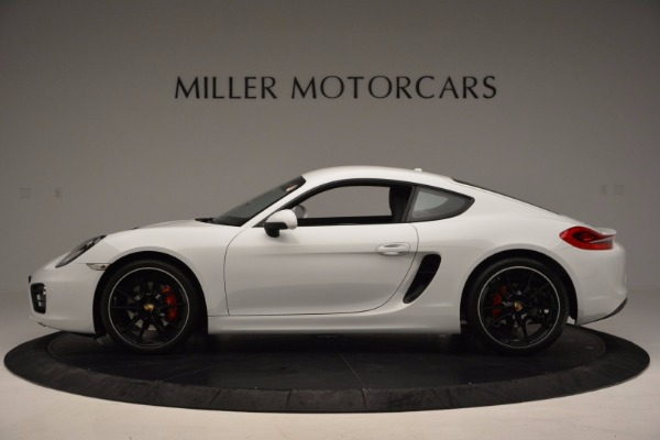 Used 2014 Porsche Cayman S for sale Sold at Aston Martin of Greenwich in Greenwich CT 06830 3