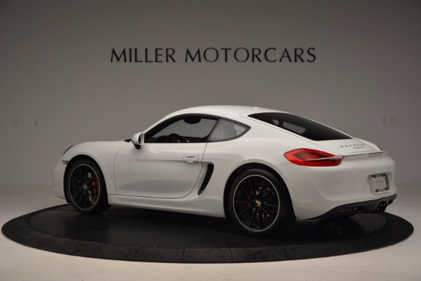 Used 2014 Porsche Cayman S for sale Sold at Aston Martin of Greenwich in Greenwich CT 06830 4