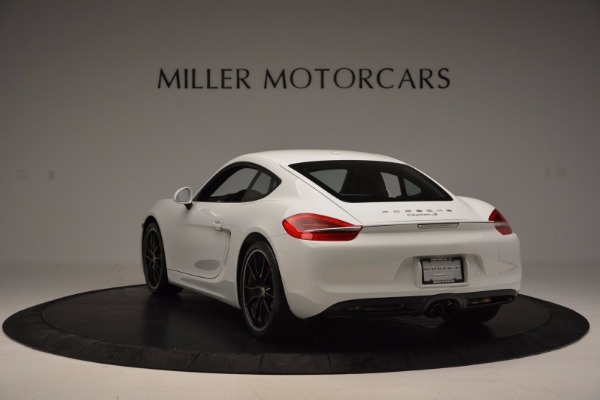 Used 2014 Porsche Cayman S for sale Sold at Aston Martin of Greenwich in Greenwich CT 06830 5