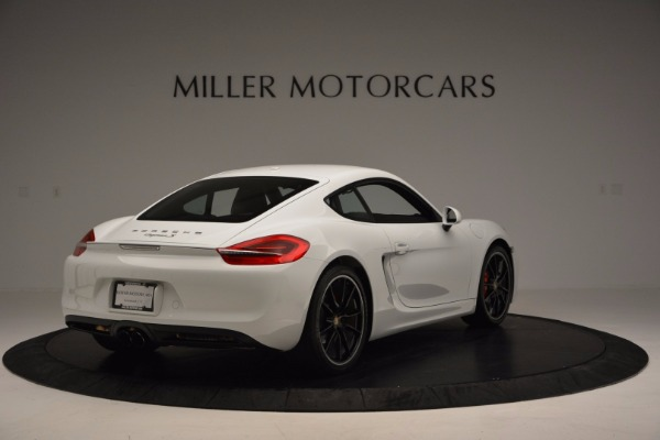 Used 2014 Porsche Cayman S for sale Sold at Aston Martin of Greenwich in Greenwich CT 06830 7
